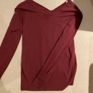 Lululemon Maroon Sweater